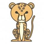 動物占いチーター カラーとキャラナビ対応
